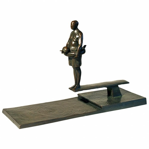 Tom Corbin - Sculpture Man Diving Board Study Exclusive