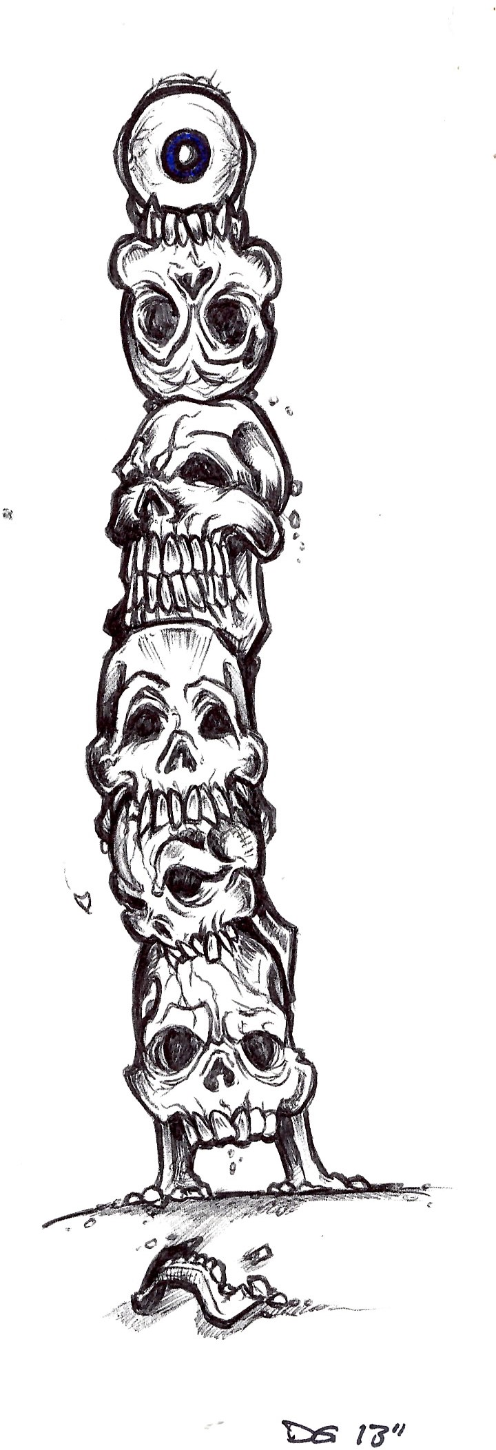 Free Aztec Totem Poles, Download Free Clip Art, Free Clip