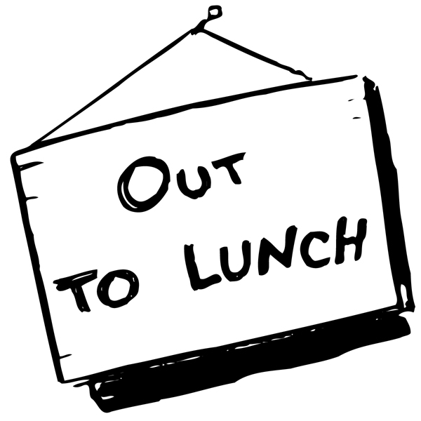 Free Printable Out To Lunch Sign, Download Free Clip Art