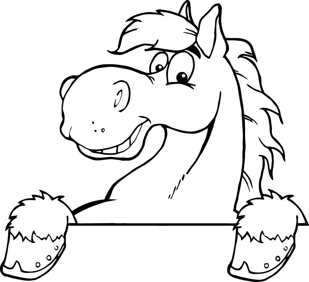 Free Horse Head Cartoon, Download Free Clip Art, Free Clip