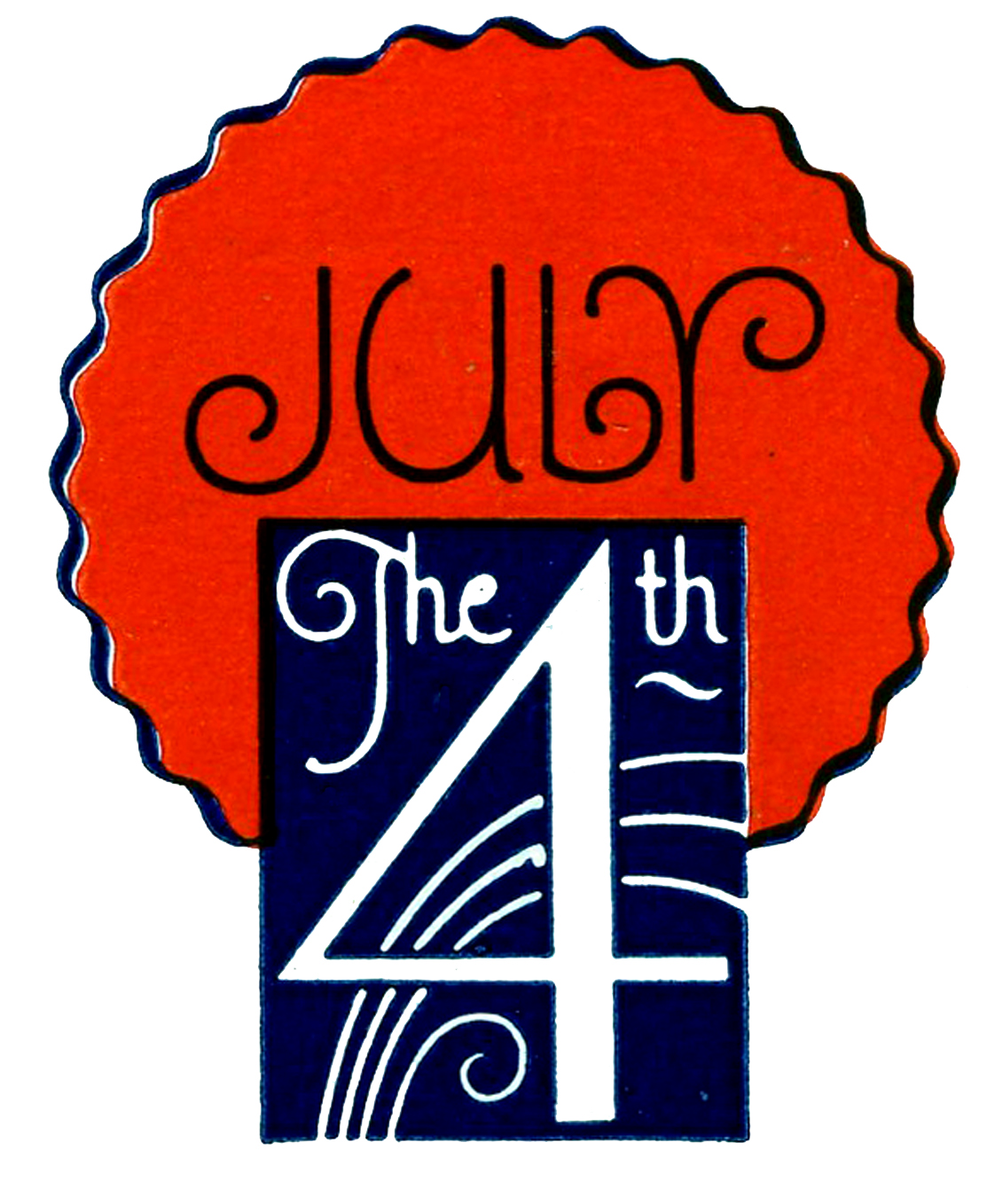 hight resolution of vintage patriotic clip art july 4th the graphics fairy