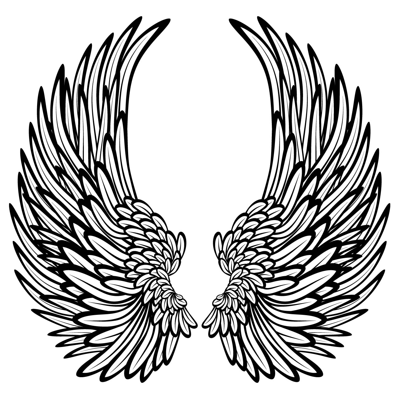 Free Hearts With Wings Coloring Pages Download Free Clip