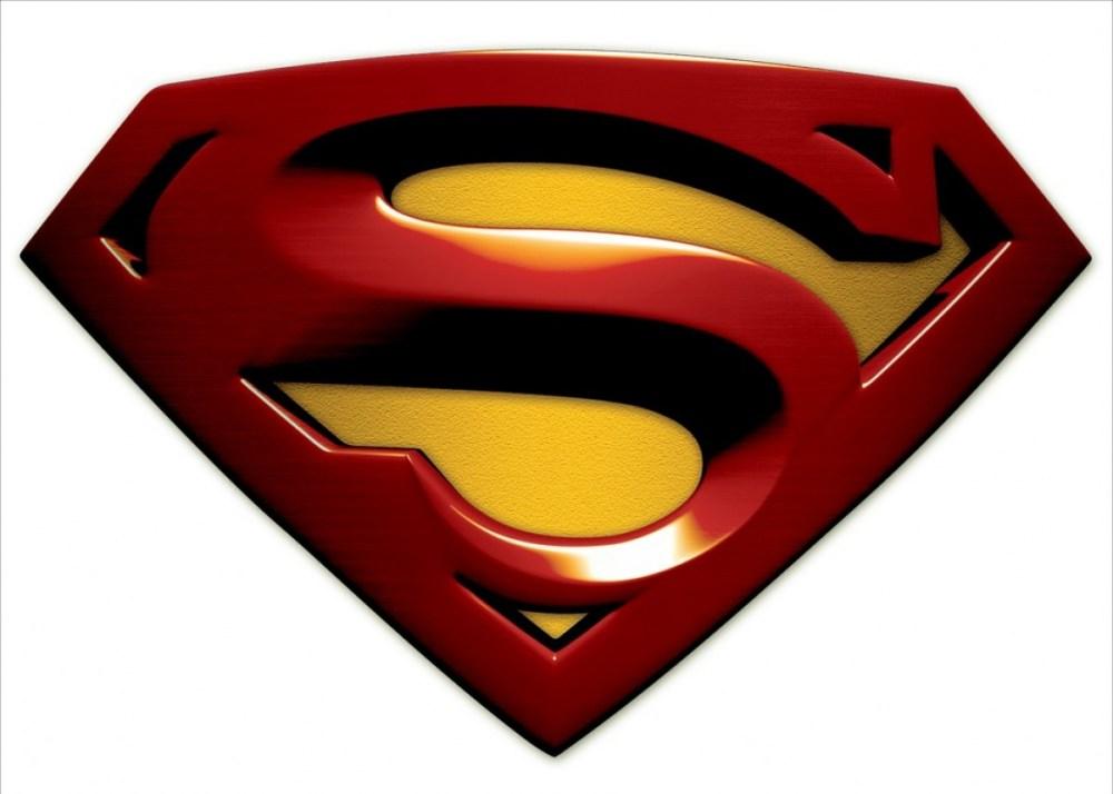 medium resolution of superman logo vector clipart library