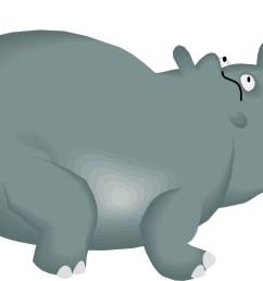 cartoon hippo [ 1494 x 989 Pixel ]