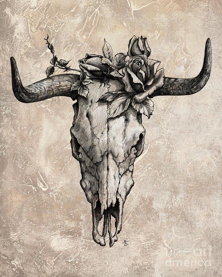 Bull Skull Clipart : skull, clipart, Skull,, Download, Clipart, Library