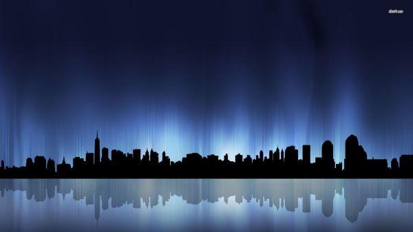 Free Cleveland Skyline Vector Clip Art