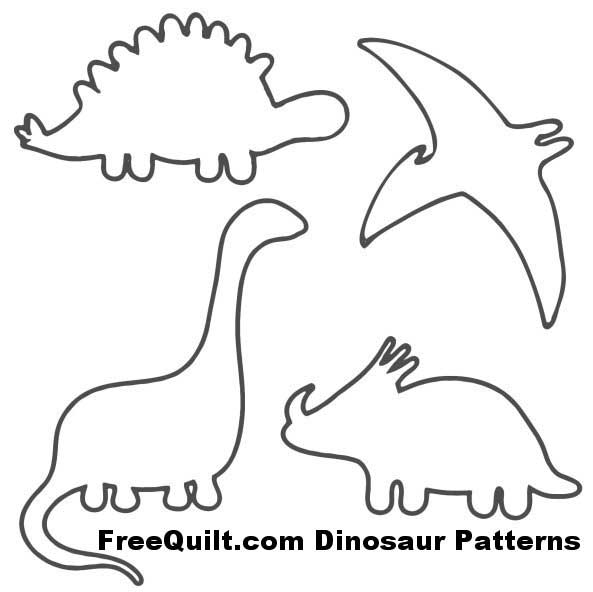 Free Dinosaur Template, Download Free Clip Art, Free Clip