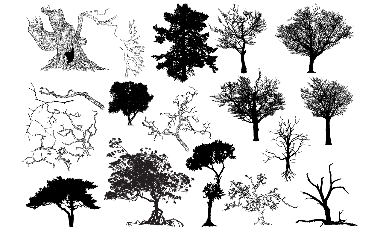Free Tree Vector Download Free Clip Art Free Clip