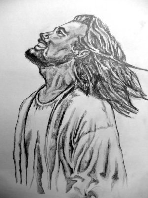 jesus drawing pencil sketches clipart drawings cliparts library clip deviantart portraits
