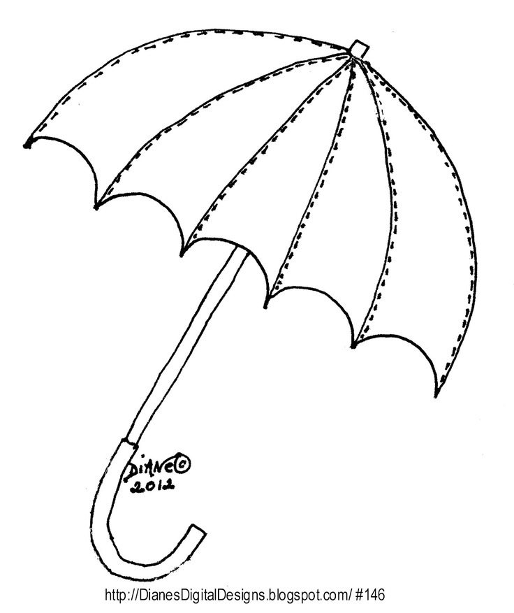 Free Umbrella Template, Download Free Clip Art, Free Clip