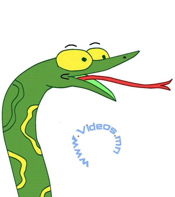 Free Draw Snake Skin Clip Art