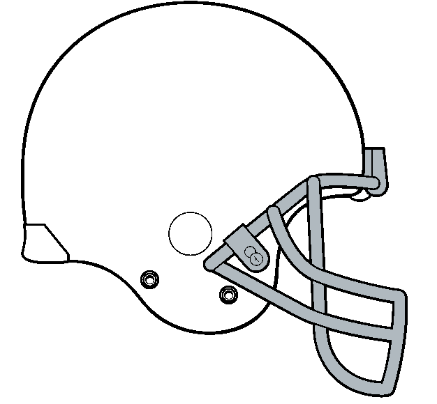 Free Football Helmet Template, Download Free Clip Art