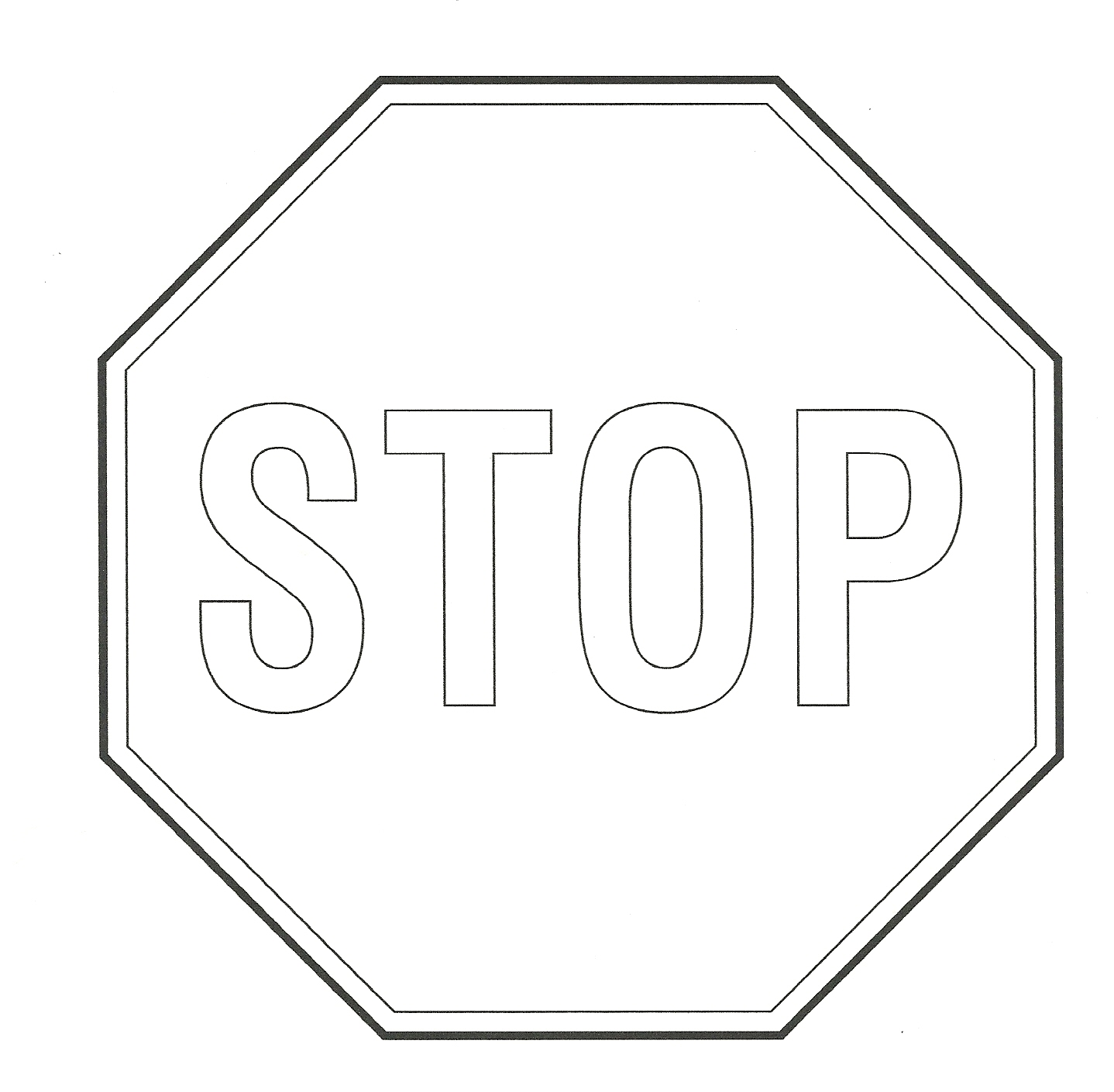 Free Stop Sign Printable, Download Free Clip Art, Free
