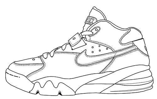 Free Shoe Outline Template, Download Free Clip Art, Free