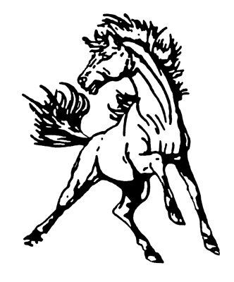 Free Mustang Mascot Logo, Download Free Clip Art, Free