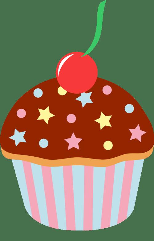 small resolution of cupcake cartoon image