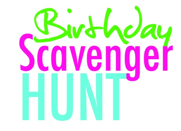 Image result for scavenger hunt free images birthday