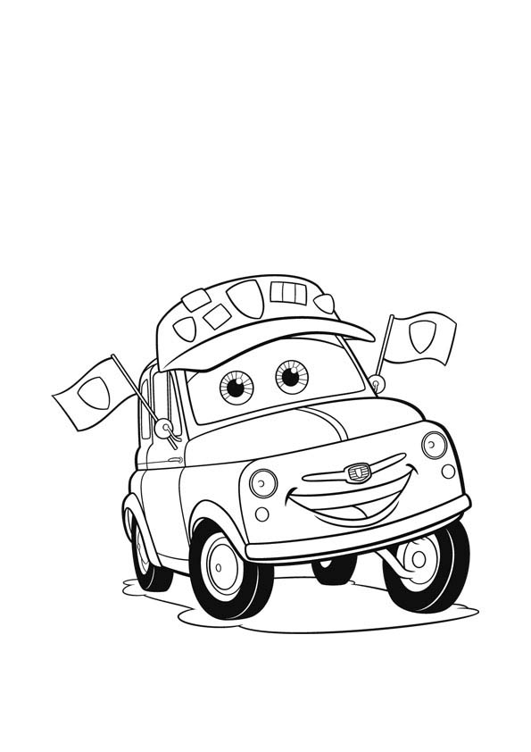 Pictxeer » Search Results » Cartoon Car Coloring Pages