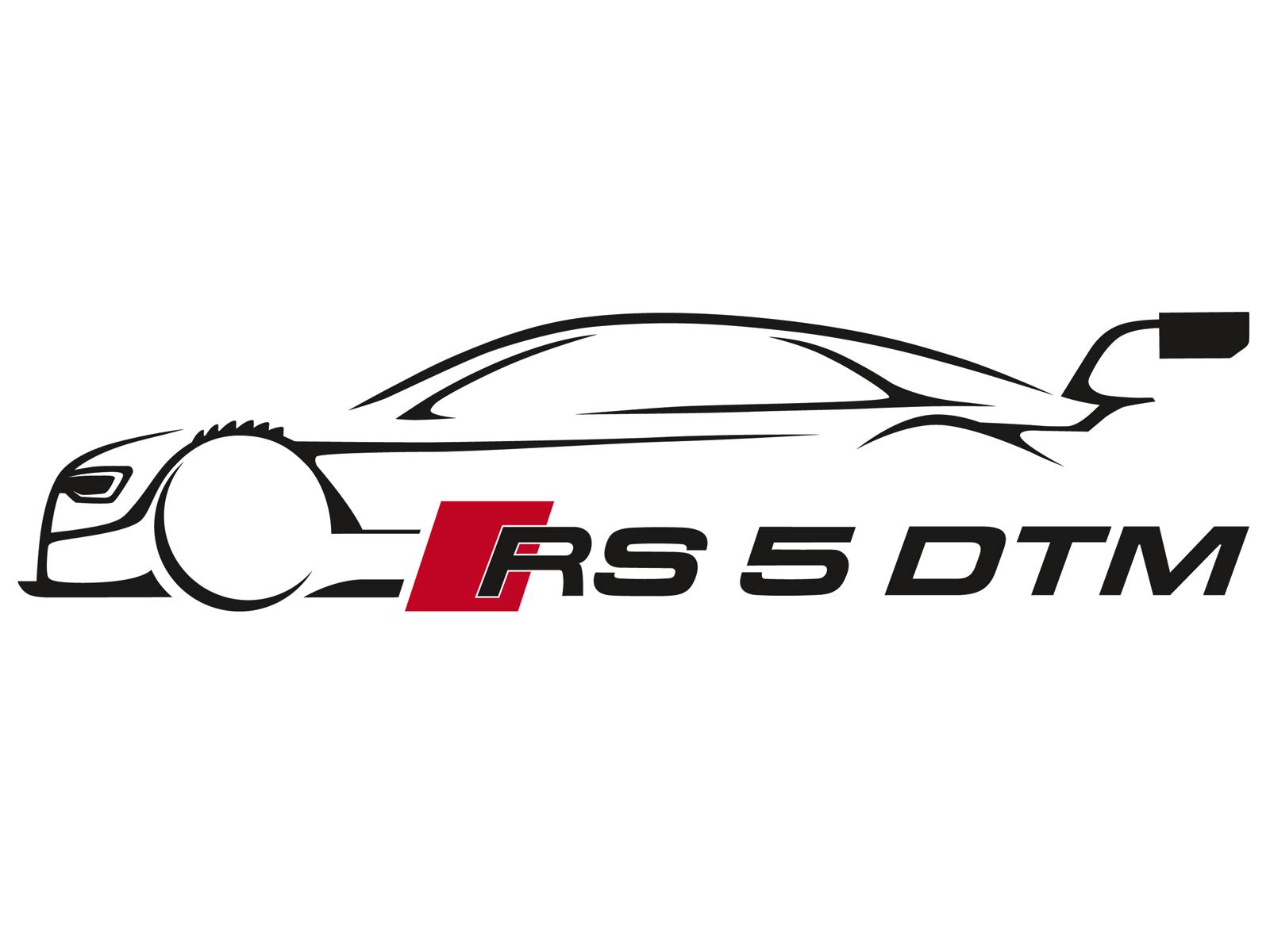 500 Black Sports Car Outline Logo Design
