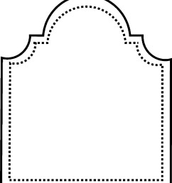 blank tombstone template clipart library [ 1400 x 1590 Pixel ]
