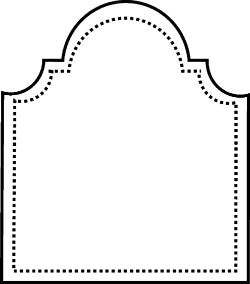 small resolution of blank tombstone template clipart library