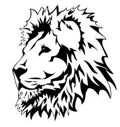 lion head art clipart library [ 1602 x 1501 Pixel ]