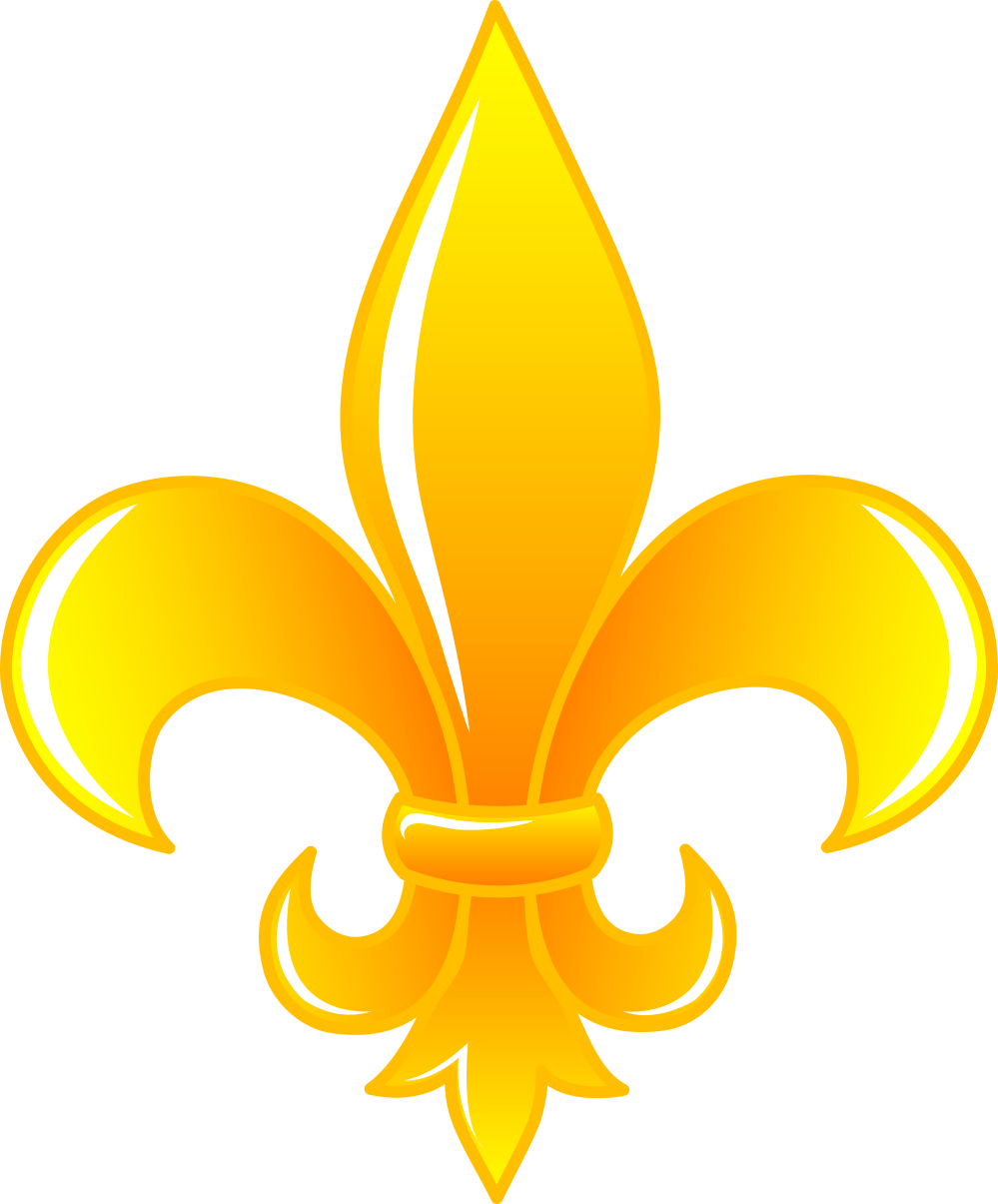 medium resolution of fleur de lis clip art