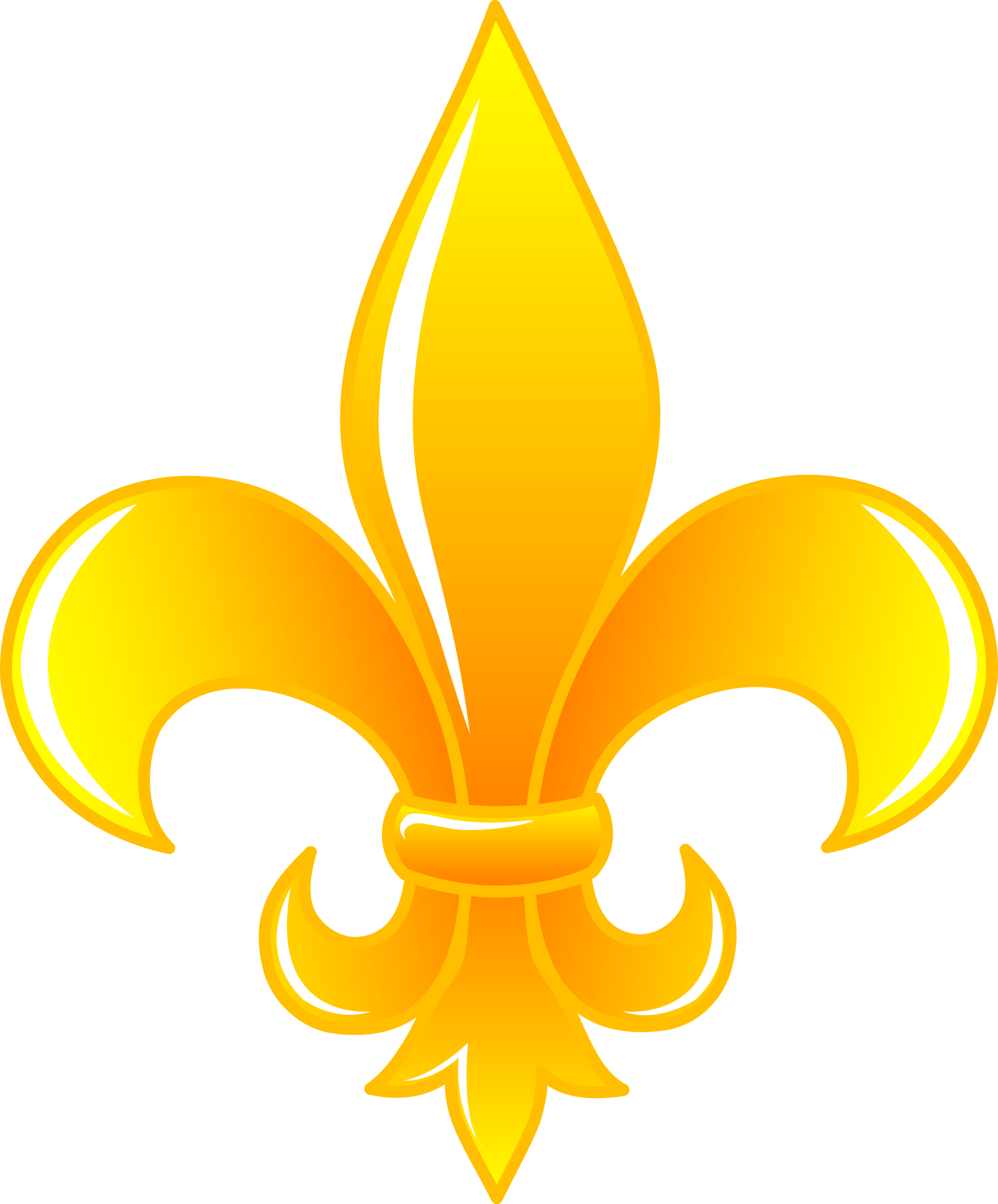 hight resolution of fleur de lis clip art