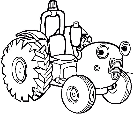 Free Cartoon Tractor, Download Free Clip Art, Free Clip