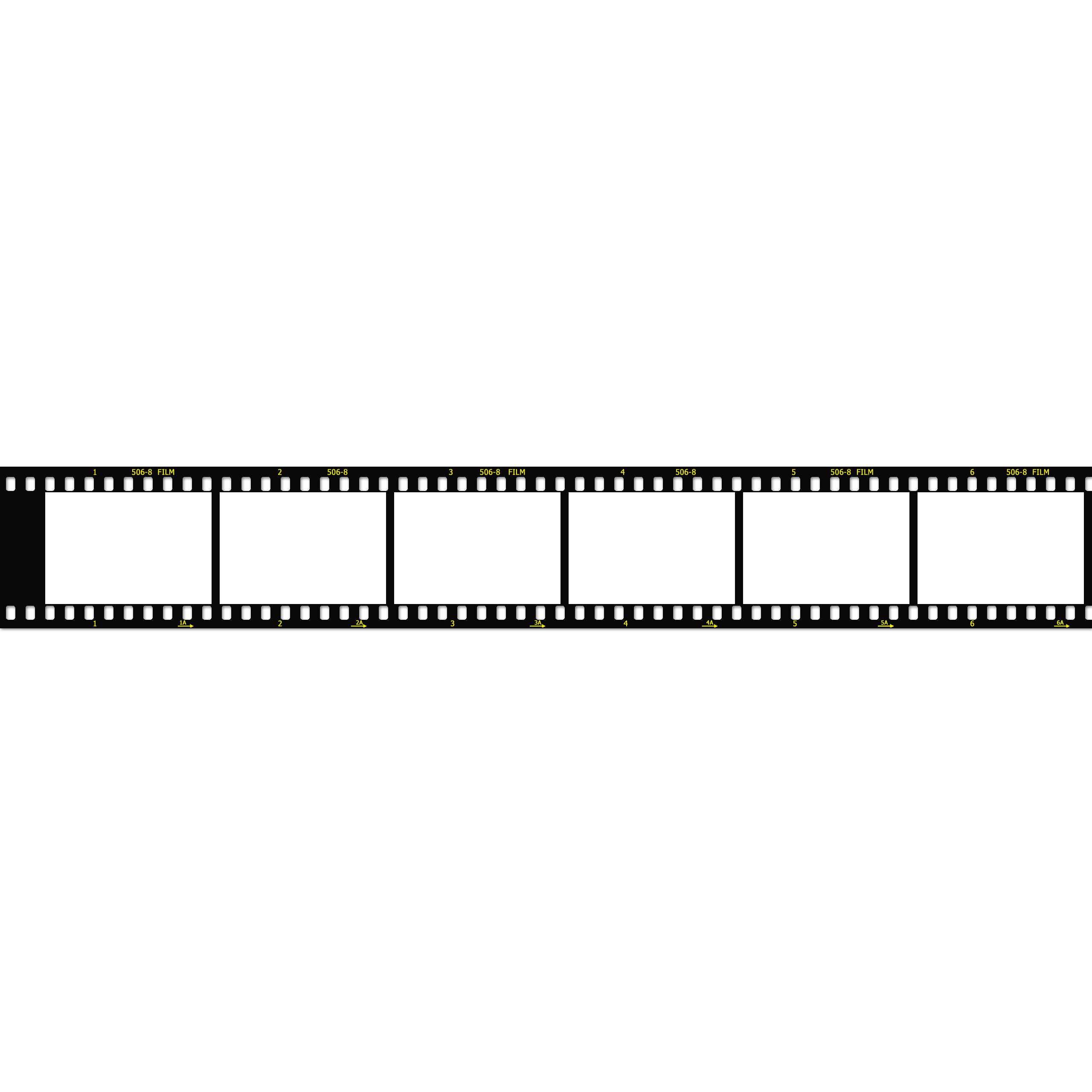 Film Strip Image Template Px Wide