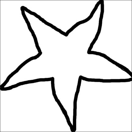 Free Starfish Template, Download Free Clip Art, Free Clip