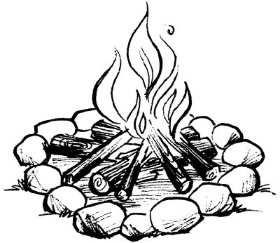 Free Campfire Drawing, Download Free Clip Art, Free Clip