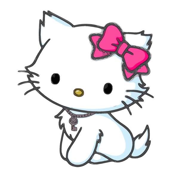 kitty isn't cat - hashtag