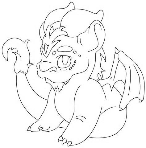 Free CUTE DRAGON DRAWINGS, Download Free Clip Art, Free