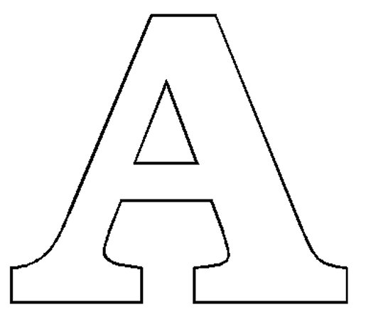 Free Letter A, Download Free Clip Art, Free Clip Art on