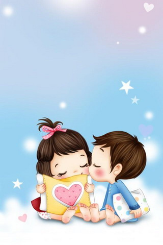 Cute Couple Pictures Cartoon