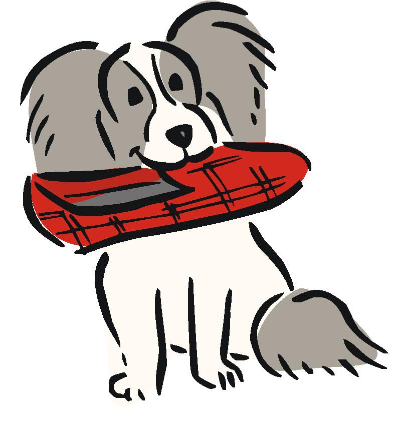 dog graphics dog bringing