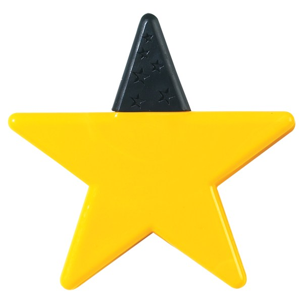 Yellow Star Shape - Clipart Library