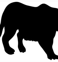 animal silhouette silhouette clip art [ 1276 x 935 Pixel ]