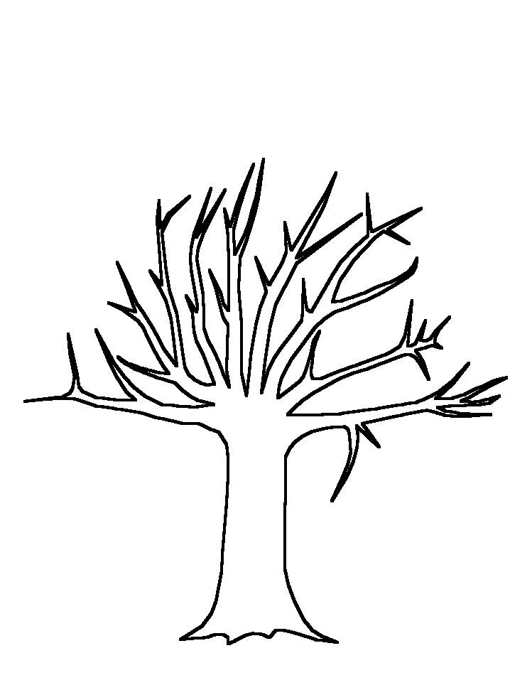 tree trunk template