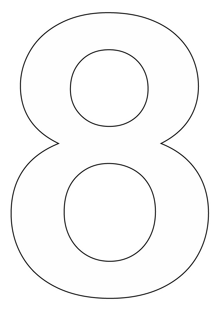 Free Number 8, Download Free Clip Art, Free Clip Art on