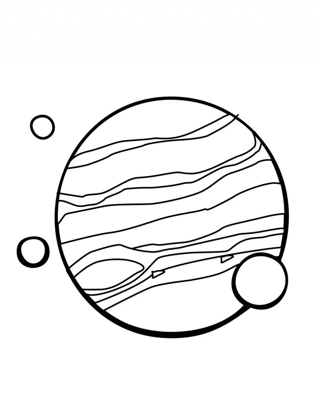 Solar System Coloring Page By Michelle Tribble 168975