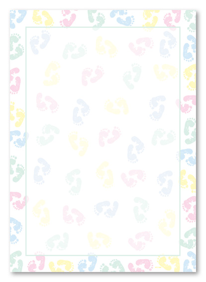 Babyshower Borders : babyshower, borders, Shower, Border, Templates,, Download, Clipart, Library