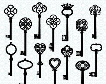 Free Pics Of Skeleton Keys, Download Free Clip Art, Free