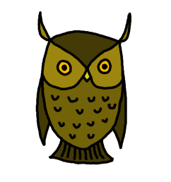 owl clip art border clipart library free clipart images [ 1000 x 1000 Pixel ]