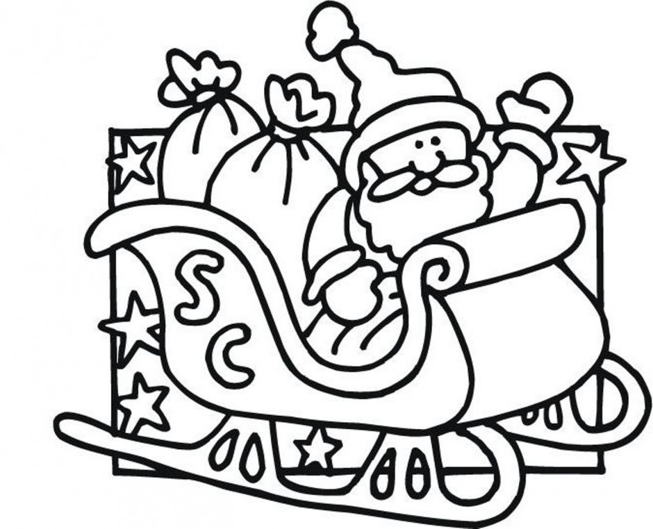 Santa Claus Coloring Pages Coloring Pages Yoall 176374