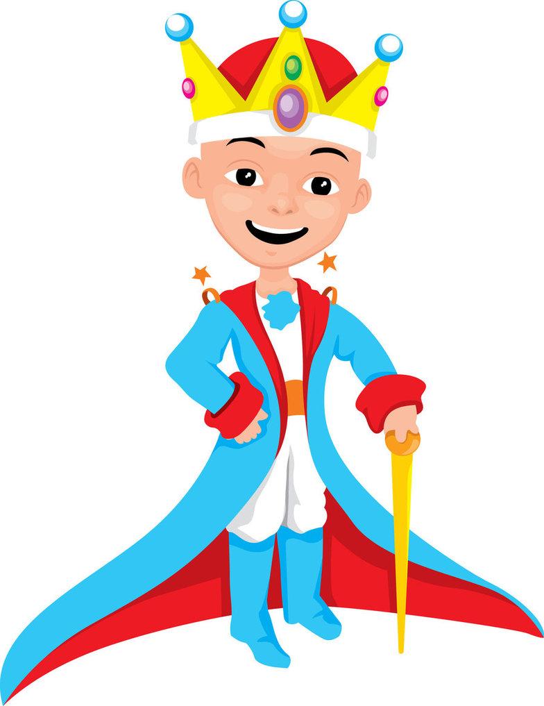medium resolution of little king cartoon by simonjakub on clipart library