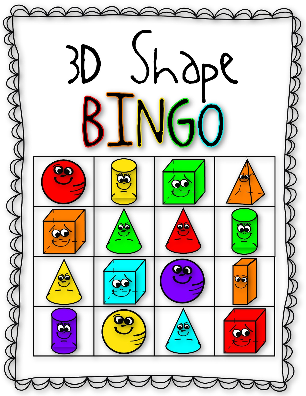 hight resolution of Free 3d Shape Clipart