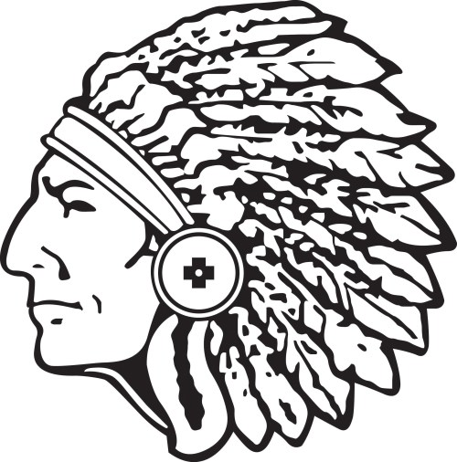 small resolution of indian head clipart