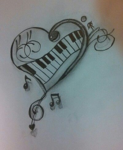 Easy To Draw Music Notes : music, notes, Music, Drawings,, Download, Clipart, Library